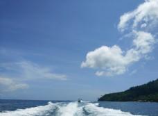 泰国普吉岛海岛海水海浪