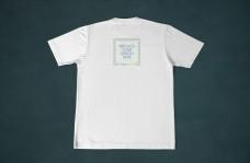 短袖t恤背面样机模板