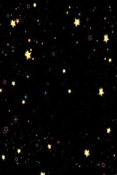 黑色星星背景璀璨背景