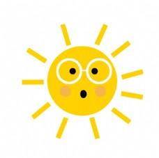 可爱太阳素材