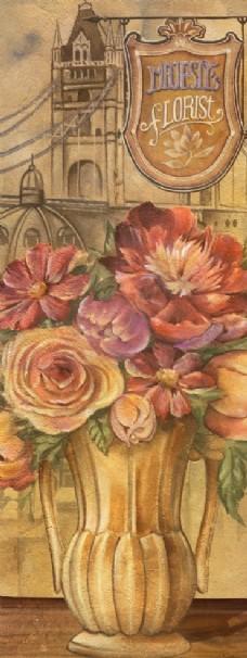 复古装饰画