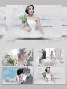 水墨风婚礼相册Pr模板