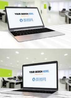 笔记本电脑办公电子设备样机