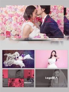 时尚动感婚礼相册开场PR模板