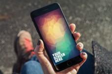 iphone手机样机模板