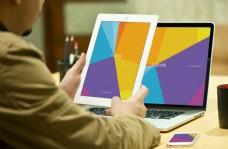 平板电脑笔记本样机模板
