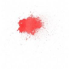 红色简约逼真血迹