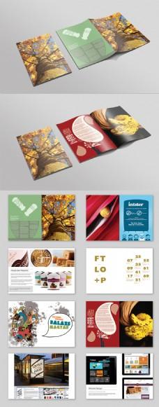国外英文创意画册设计家居杂志书下载