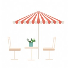 咖啡厅的桌子和椅子