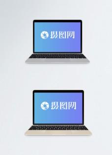 笔记本电脑电子设备样机
